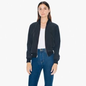 American apparel light bomber jacket (TWO COLOURS)